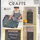 McCall's Sewing Pattern, 3698, Chalt cloth hangings,Three, floor mat