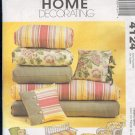 McCall's Sewing Pattern 4124, Cushions and throw pillows, easily adjusted