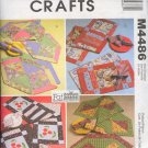 McCall's Sewing Pattern 4486, Table mats and napkins. One Size