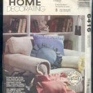McCall's Sewing Pattern, Throw Pillows, 15 styles