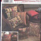 Simplicity Sewing Pattern 5685, Pillows, 14 styles