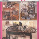 Simplicity Sewing Pattern 9471, Baskets, Boxes and Frames