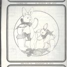 Sewing Pattern, Animal Crackers 8 and 11 Inch jointed bunny rabbit, Bunnikins