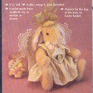 "Sewing Pattern, Angelic by Gooseberry Hill, 9.5"" tall Bunny Rabbit"