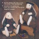 """Sewing Pattern, Bachelor Button's Wardrobe, clothes for 19"""" body by Gooseberry Hill"""