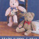 """Sewing Pattern, Beany Bunny & Bear by Indygo Junction, 10"""""""