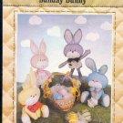 "Sewing Pattern, Patch Press, Sunday Bunny, Rabbits, 8"""
