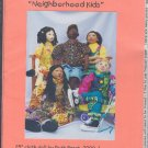 "Sewing Pattern 25"" doll by Ruth Prest, Neighborhood Kids and all the clothes"