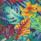 "Sewing Fabric Cotton Bright Hawaii Print 1.33 yds X 44""   No. 153"