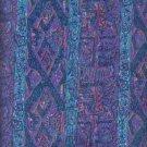 "Sewing Fabric Cotton Polynesian Print 2 Yds X 60""  No. 162"