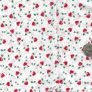 Sewing Fabric Cotton Small Print Hearts on white 1.75  No. 197