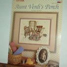 Cross Stitch Pattern AUNT VERDI'S PORCH Rocker, Quilt & Chair