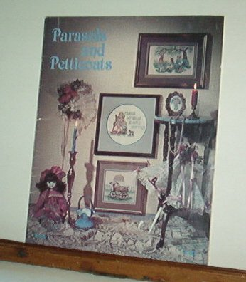 Cross Stitch Patterns PARASOLS AND PETTICOATS 12 Designs