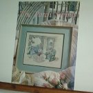 Cross Stitch Pattern THE PORCH SWING Wicker rocket and swing