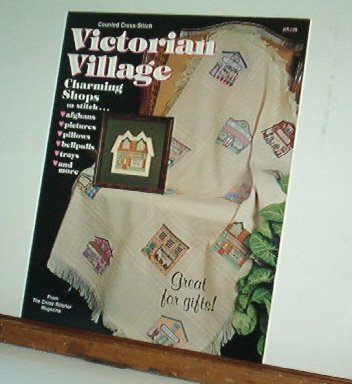 Cross Stitch Patterns VICTORIAN VILLAGE 12 Designs 9X9