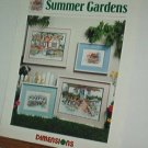 Cross Stitch  Patterns SUMMER GARDEN Four Designs