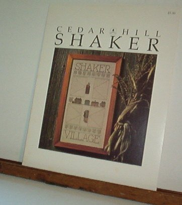 Cross Stitch Pattern Shaker by Cedar Hill Handsome