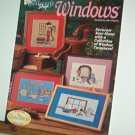 Cross Stitch Patterns WINDOWS  4 Designs