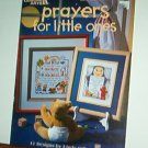 Cross Stitch Patterns, Prayers for Little Ones, 11 designs, Sweet
