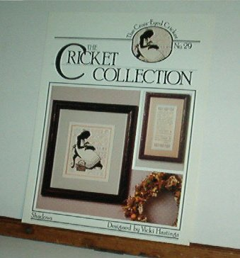 Cross Stitch Patterns, Shadows from The Cricket Collection, 3 patterns