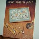 Cross Stitch Patterns,  Old World Map, l design