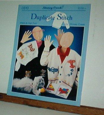 Cross Stitch Patterns, Duplicate Stitch Stoney Creek, Kittens, Boat, Airplane
