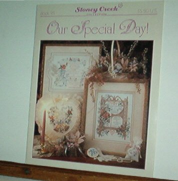 Cross Stitch Pattern, Wedding & Anniversary, OUR SPECIAL DAY 12 designs and alphabet