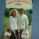 Knitting Pattern Bruns 9112, Aran Hand Knits 6 designs for adults and kids