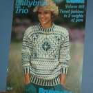 Knitting Patterns Brunswick 869 Ballybrae Trio 8 designs men and women sweaters and vests