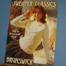 Knitting Patterns by Brushwick 834 Sweater Classics 8 designs for whole family