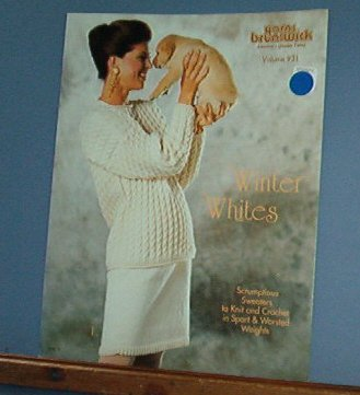 Knitting Patterns, Brunswick 931 Winter Whites 4 designs
