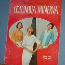 Vintage Knitting Pattern Columbia Minerva Fashion Showcase Bk 739, 1950's  24 designs
