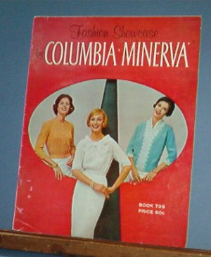 Vintage Knitting Pattern Columbia Minerva Fashion Showcase Bk 739, 1950's  24 designs