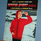 Vintage Knitting Patterns, Bear Brand 38 WINTER SPORT FASHIONS Whole Family Sweaters & Gloves