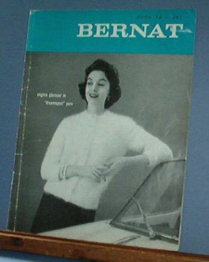 Vintage Knitting Pattern, Bernat 79, 1959, Women's Mohair sweaters and accessories 15 designs