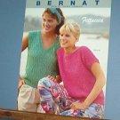 Knitting Patterns, Bernat 570, Fettuccia summer sweaters for women 4 designs