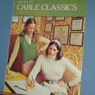Knitting Pattern, Columbia Minerva Cable Classics, 6 styles for women