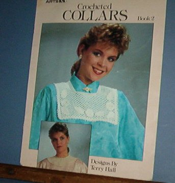 Crochet  Patterns Collars, 5 designs, easy