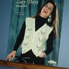 Crochet Patterns, Lacy Days, Brunswick, 4 designs, vests and cardigans