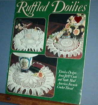 Crochet Patterns, Ruffled Doilies 7 designs