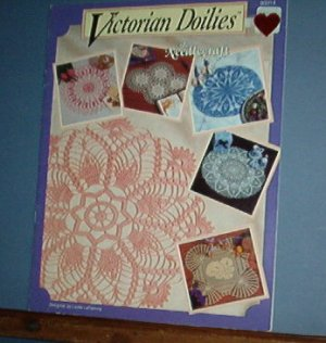 Crochet Pattern, Victorian Doilies 4 old fashioned designs