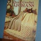 Crochet Patterns Quick AFGHANS 3 designs, handsome