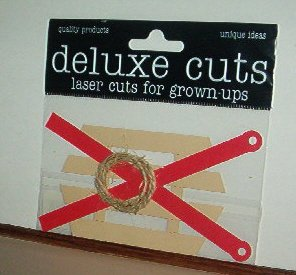 Scrapbooking - Laser cut by Deluxe cute Vintage snow sled New