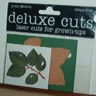 Scrapbooking - Die Cuts - Laser Cut Rose Leaves  New