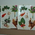Scrapbooking - Stickers - 3 sheets, herbs & spices New