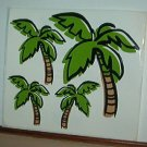 Scrapbooking - Stickers - 1 sheet  Palm Trees  New