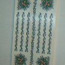 Scrapbooking - Stickers - 10 sheets  Flower vine borders New   Free Shipping