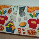 Scrapbooking - Stickers - 2 sheets  College gear