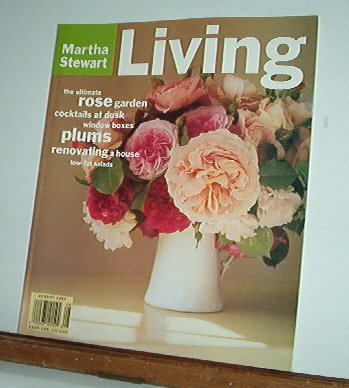 Magazine - Martha Stewart Living - Free Shipping - No.  21  August 1994