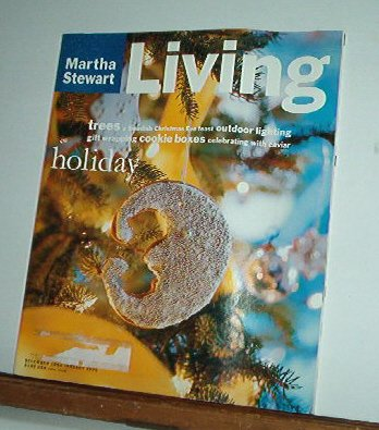 Magazine - Martha Stewart Living - Free Shipping - No.  25  - Dec 1994/Jan 1995